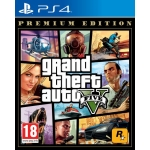 GTA V * GRAND THEFT AUTO 5 PL [PS4] PREMIUM EDITION