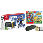 NINTENDO SWITCH V2 + ETUI + FORTNITE + MARIO + ANIMAL