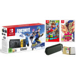 NINTENDO SWITCH V2 + ETUI + FORTNITE + MARIO + POKEMON