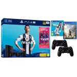 PLAYSTATION 4 PRO 1TB + 2X PAD + FIFA 19 + ASSASSIN CREED ODYSSEY