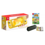 NINTENDO SWITCH LITE +ETUI +SZKŁO +ANIMAL CROSSING