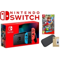 KONSOLA NINTENDO SWITCH + GRA + ETUI  [NOWY MODEL]