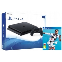 KONSOLA PLAYSTATION 4 SLIM 1TB + FIFA 19 [PS4]