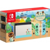NINTENDO SWITCH NEON V2 ANIMAL CROSSING ED + GRA
