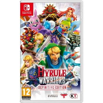 HYRULE WARRIORS DEFINITIVE EDITION [SWITCH]