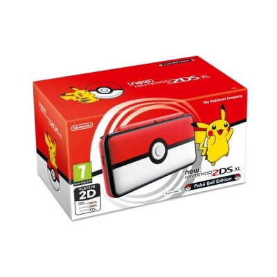 NEW NINTENDO 2DS XL POKE BALL EDITION