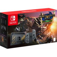 KONSOLA NINTENDO SWITCH MONSTER HUNTER RISE EDITION